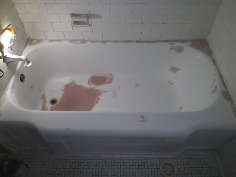 Bathtub Resurfacing And Refinishing Before And After Photos